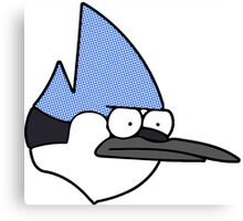 Mordecai annoyed face Canvas Print