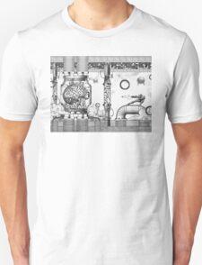 Vintage Metroid Mother Brain Engraving T-Shirt