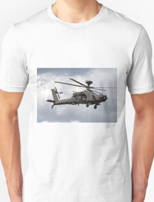 British Army Air Corps AugustaWestland WAH-64D AH.1 Helicopter Unisex T-Shirt