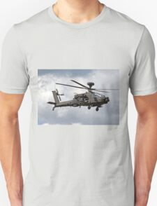 British Army Air Corps AugustaWestland WAH-64D AH.1 Helicopter T-Shirt