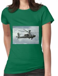 British Army Air Corps AugustaWestland Apache AH.1 Helicopter Womens Fitted T-Shirt