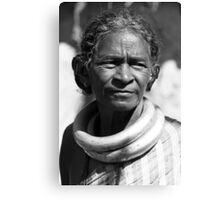 Tribal Woman Canvas Print
