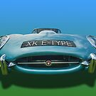 Jaguar E-Type by Kit347