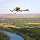 Flying over the Darling River by Nikki Bond