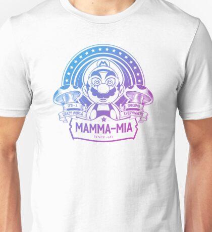 Super Mario Ate One Spicy Mushroom Unisex T-Shirt