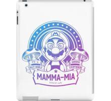 Super Mario Ate One Spicy Mushroom iPad Case/Skin