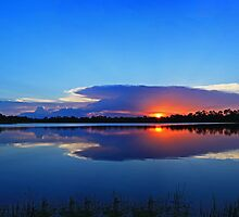 pond panoramic view by cliffordc1
