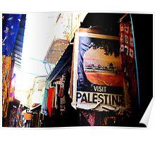 Come Visit Palestine Poster