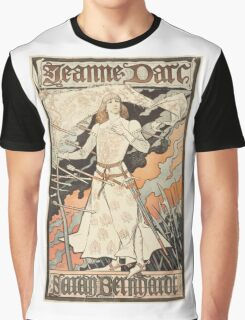 Vintage poster - Joan of Arc Graphic T-Shirt