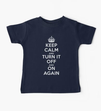 Keep Calm Baby Tee