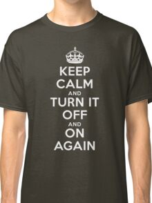Keep Calm Classic T-Shirt