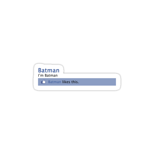 Batman Facebook by Shaun Beresford