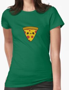 Yummy pizza Womens Fitted T-Shirt