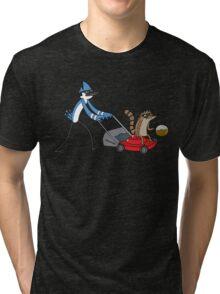Regular Show Coffee Tri-blend T-Shirt