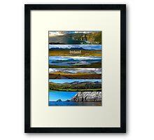panoramic Ireland Framed Print