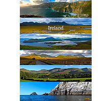 panoramic Ireland Photographic Print