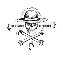 One Piece No Marines No Problem Photographic Print