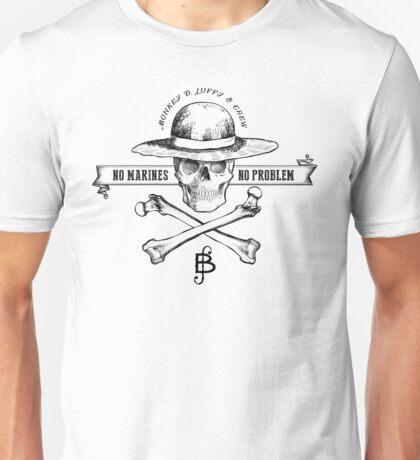 One Piece No Marines No Problem Unisex T-Shirt