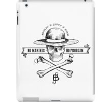One Piece No Marines No Problem iPad Case/Skin