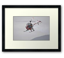 Otto The Helicopter,Avalon Airshow,Australia 2015 Framed Print