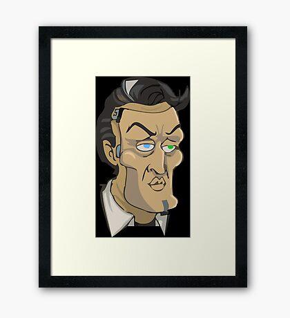 El guapo Framed Print