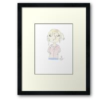 Doctor Who - Jackie Tyler Framed Print