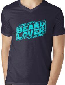 Scruffy Looking Beard Lover Mens V-Neck T-Shirt