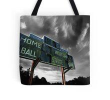 Old Baseball Scoreboard - The Diamond- Greenham Tote Bag