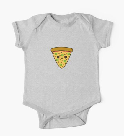 Yummy spicy pizza One Piece - Short Sleeve