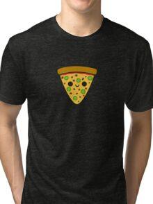 Yummy spicy pizza Tri-blend T-Shirt