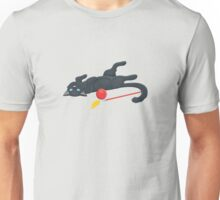 Playful cat with a ball Unisex T-Shirt