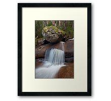 Forgotten Cascades Framed Print