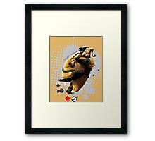 Galactic Tornado Framed Print