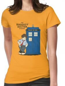 The Raggedy Doctor Stories Womens Fitted T-Shirt