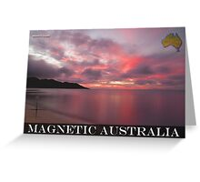 Magnetic Australia Greeting Card