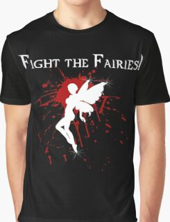 Supernatural Fight the Fairies v2.0 Graphic T-Shirt