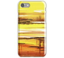 Reflection Abstract Landscape iPhone Case/Skin