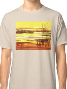 Reflection Abstract Landscape Classic T-Shirt