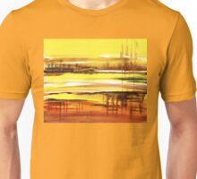 Reflection Abstract Landscape Unisex T-Shirt