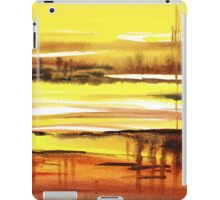 Reflection Abstract Landscape iPad Case/Skin