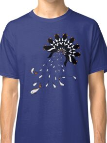 Penguin Flowers Classic T-Shirt