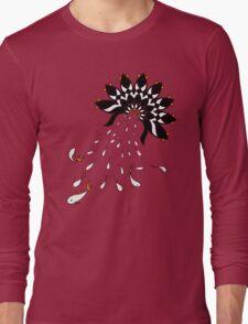 Penguin Flowers Long Sleeve T-Shirt