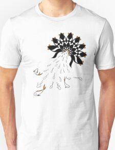 Penguin Flowers Unisex T-Shirt