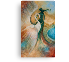 LEDA AND THE SWAN Canvas Print