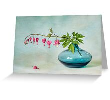 Floral Hearts  Greeting Card
