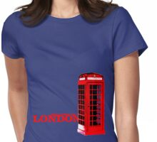 Welcome to London Womens Fitted T-Shirt