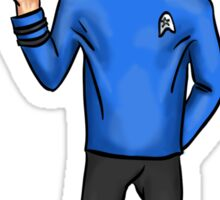 Live Long and Prosper - Spock Sticker
