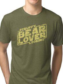 Scruffy Looking Bear Lover Tri-blend T-Shirt