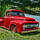 1956 Ford F100 Pickup Truck by TeeMack