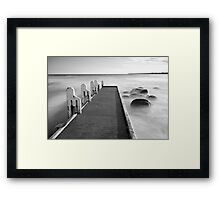 Cape Conran Jetty Framed Print